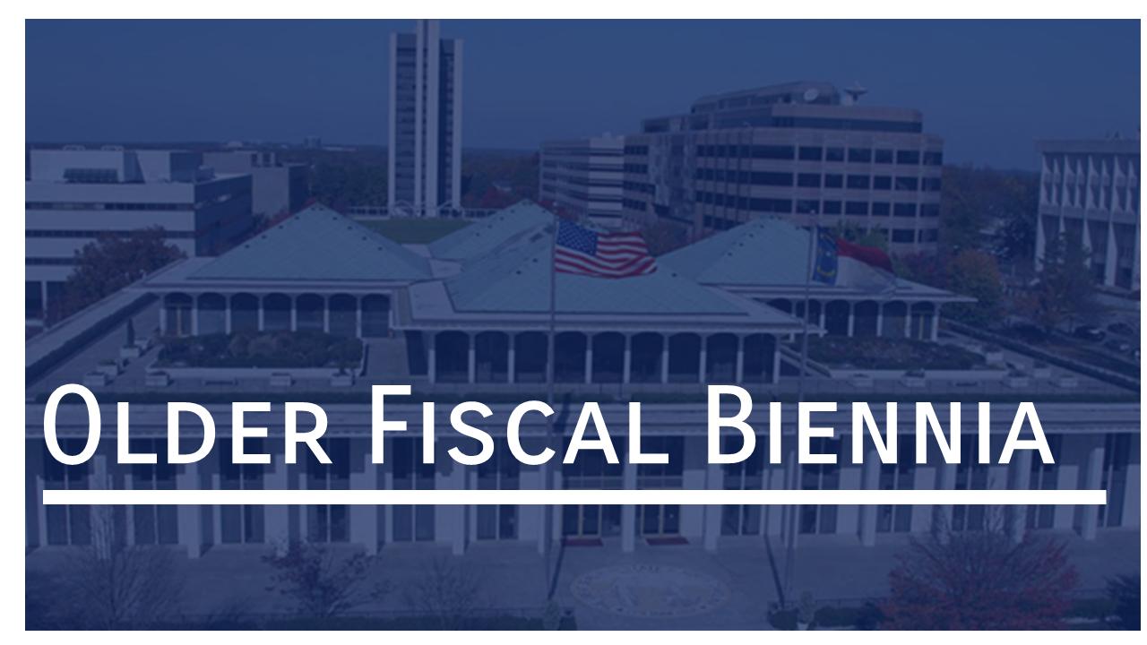 Link to Older Biennia Budget Documents